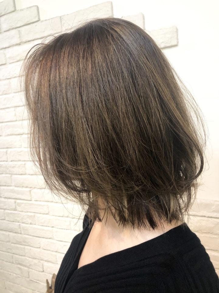 明るい白髪染めは、イルミナカラーで叶えられる!の画像