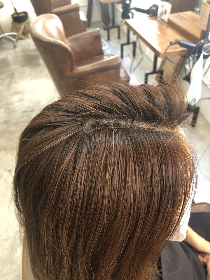 渋谷駅 美容院 美容室 イルミナカラー オーガニックカラー 白髪染め