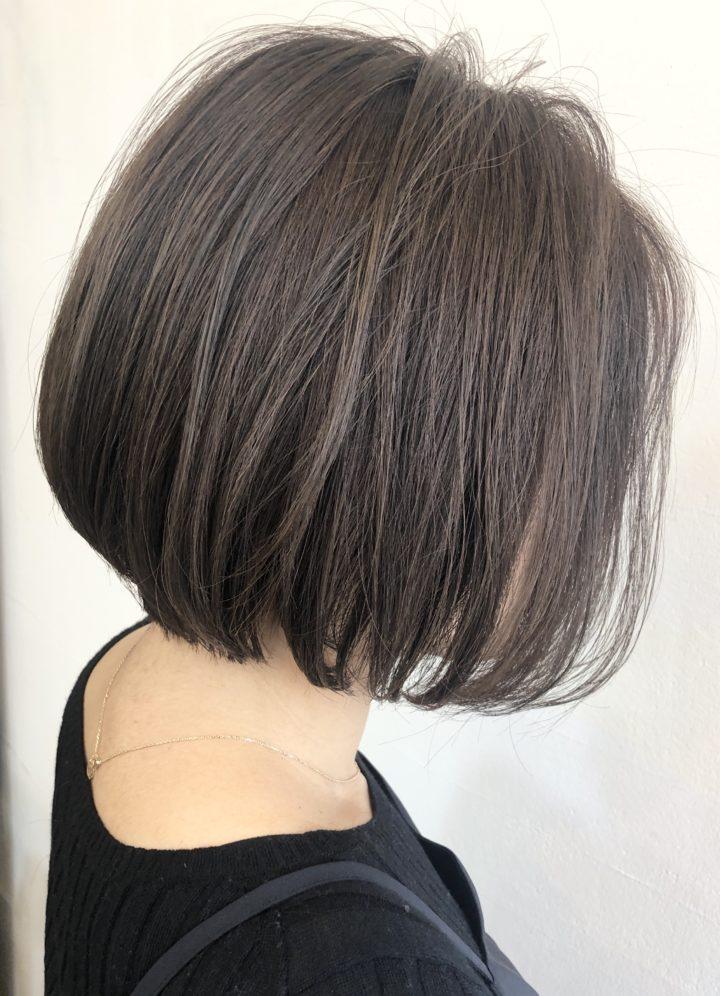 イルミナカラーで白髪染め!秋冬カラーにしてみた。の画像