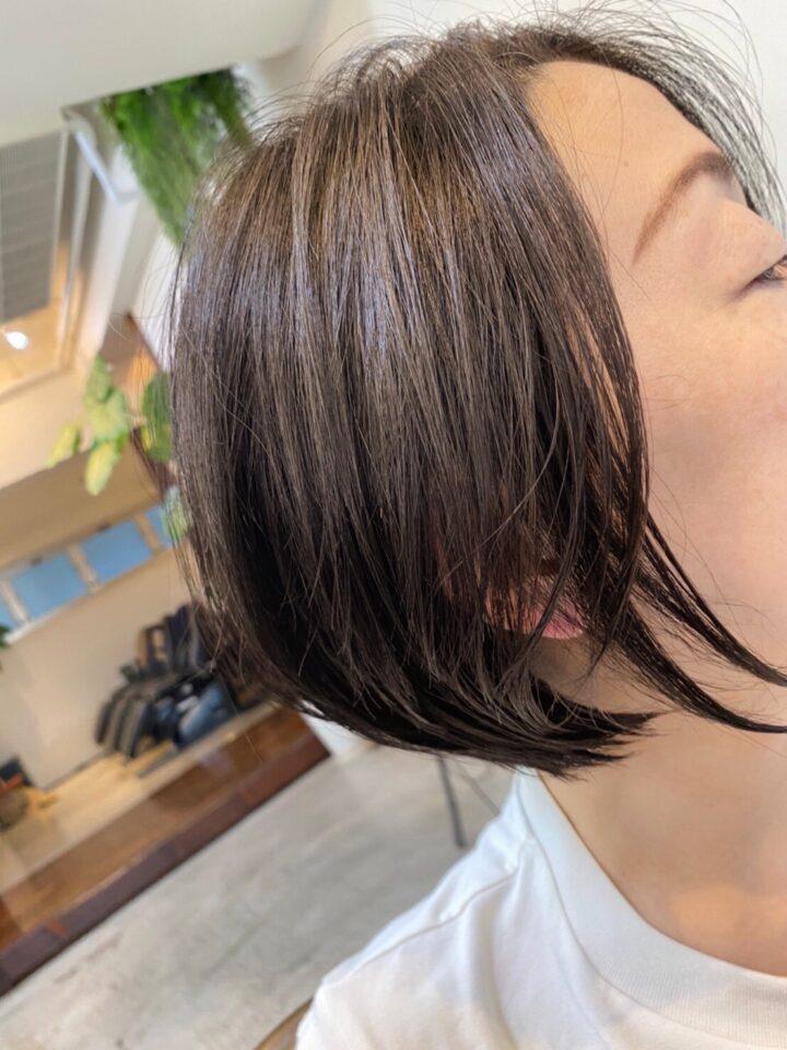 秋のヘアスタイルにチェンジ!の画像